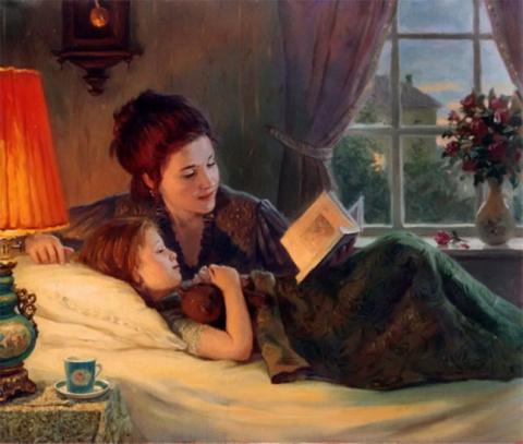«Мама, почитай мне «Колобка»…
