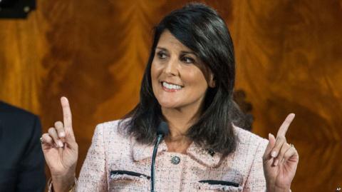Никки Хейли: война в Сирии не закончится, пока не уйдет Асад