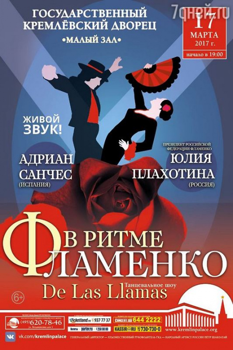 Танцевальное шоу «В ритме фламенко»
