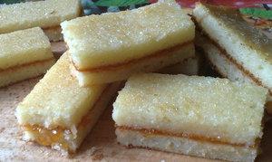 Лимонные пирожные - рецепт.