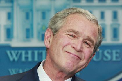 Буш-младший: Россия пытается…