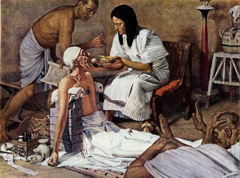 Древнеегипетская «клубничка» и некоторые особенности медицины страны фараонов
