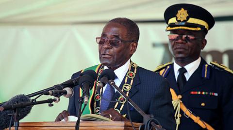 92-летний Роберт Мугабе собрался на очередной президентский срок