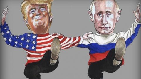 """Схема для Трампа. """"Крым - России, Донбасс - Украине"""""""