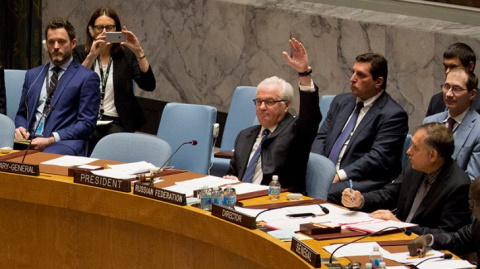 "Видео: За наших медсестричек! Чуркин от души ""врезал"" на СБ ООН."