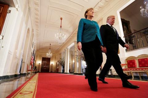 Трамп выставил Меркель счет …