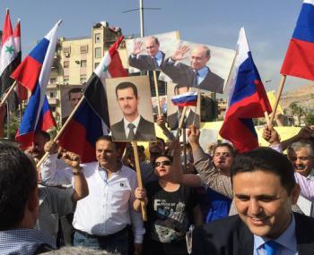 Сирийцы в знак благодарности…