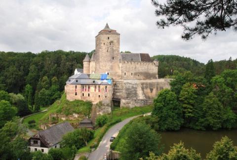 Красивейшие замки в окрестностях Праги