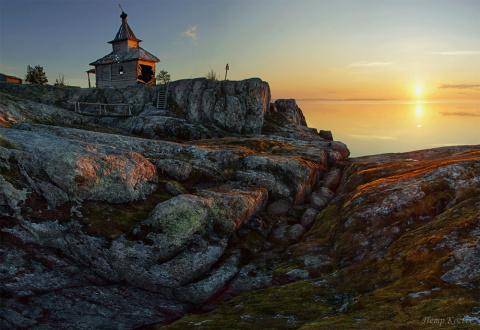 Красота Ладожских шхер в фотообъективе Петра Косых