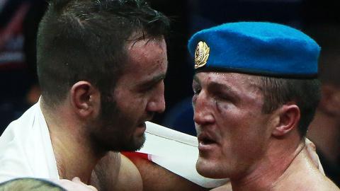 «Не знаю, как удалось выстоять»: Гассиев рассказал о поединке с Лебедевым
