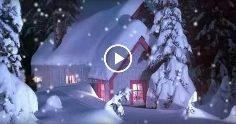 Зимняя сказка и очаровательн…