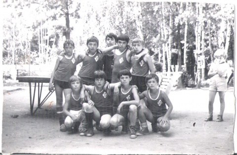 1981 001  футбольная команда