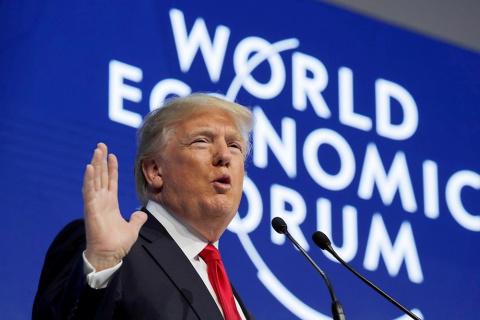 Трамп в Давосе разозлил лидеров ЕС заявлением, что «Америка на первом месте»