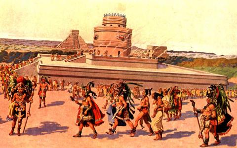 Государства ацтеков, майя, инков