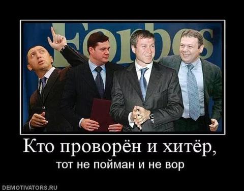 Российские олигархи: Воры ил…