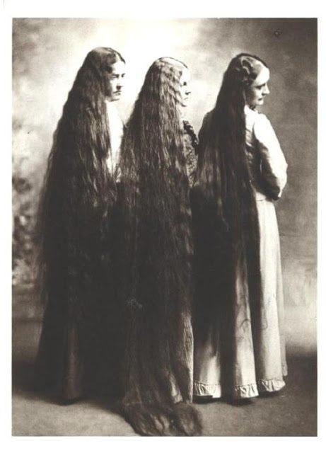 Как вы думаете, как часто мыли волосы женщины века назад?
