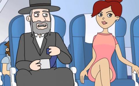 Потрясающий случай в самолет…