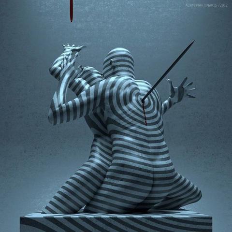Творения Адама Мартинакиса: 25 потусторонних цифровых сюрреалистических скульптур