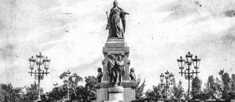 Возрождение памятника Екатер…
