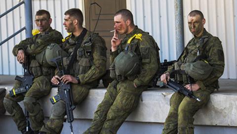 В Литве пьяные военные НАТО …