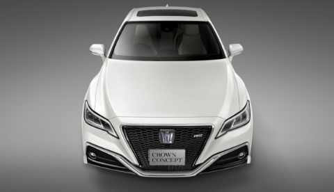 Новый седан Toyota Crown: пе…