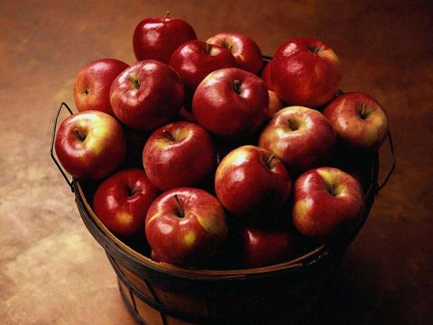 Ведро с яблоками: замечатель…