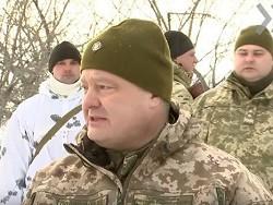 Порошенко: украинская армия …