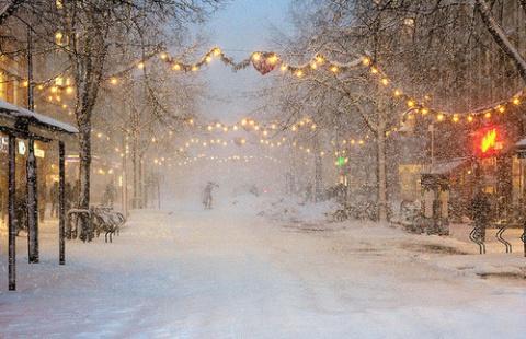 Инстаграм недели: похолодание в Новосибирске
