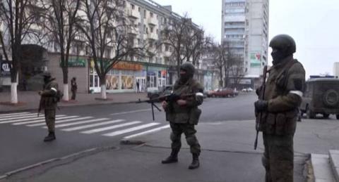 Что происходит в центре Луганска?