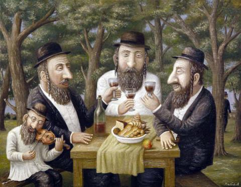 Три пожилых еврея решили нем…