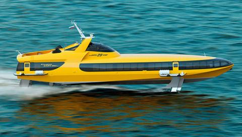 Россия возобновила производство судов на подводных крыльях