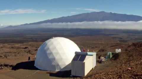 Добровольцы на Гавайях начали эксперимент по симуляции жизни на Марсе