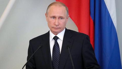 Путин впервые примет военно-морской парад на праздновании Дня ВМФ в Петербурге