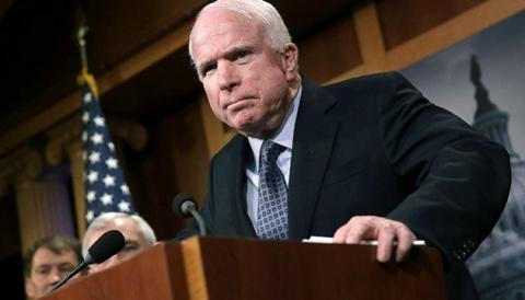 Маккейн прокомментировал провозглашение в ДНР Малороссии