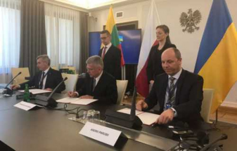 Польша, Литва и Украина реши…