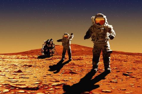 Люди побывали на Марсе в 1979 году