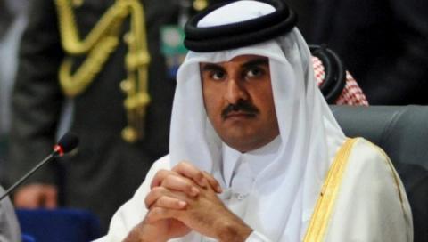 Эмир Катара передал послание Путину