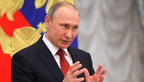 Владимир Путин: Украина захл…
