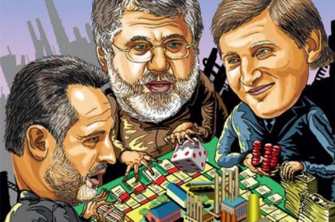 Украина тонет в электролите