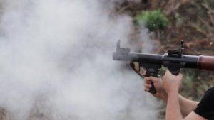 Срочно: террористы атаковали воинскую часть в центре Донецка