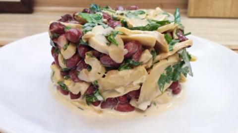 Самый быстрый салат за 2 минуты