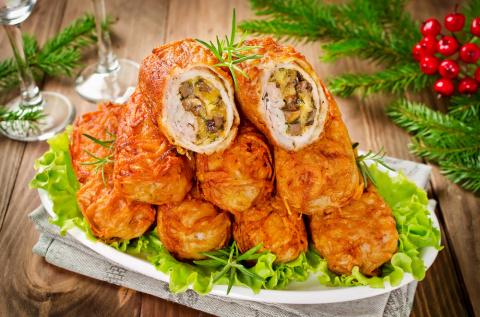 Хрустящие картофельные котлеты с мясом