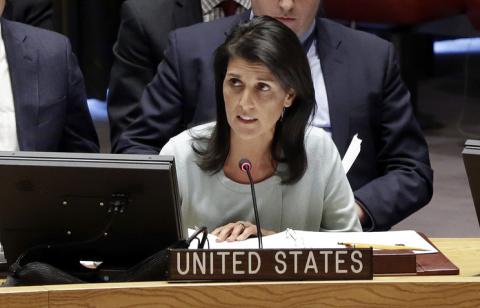 Постпред США в ООН призвала …