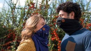Французы создали шарф-фильтр…