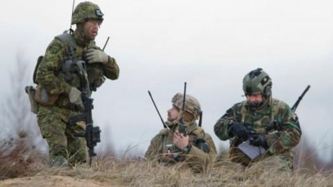 Учения НАТО:болгарские солда…