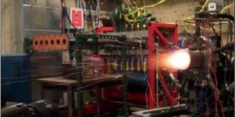 В России успешно испытали первый в мире ракетный двигатель нового поколения