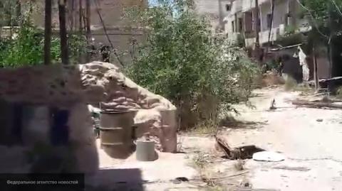 Сирия: правительственные ВВС ударили по пунктам исламистов в Дамаске