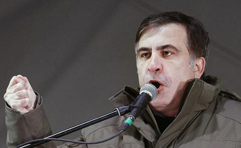 Саакашвили призвал выйти на …