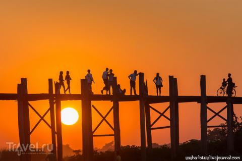 Мьянма. Ловля солнца на тико…