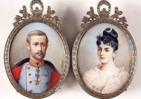 Кронпринц Рудольф и Мария Ве…
